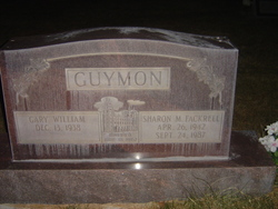 Sharon May <I>Fackrell</I> Guymon