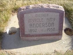 Myrtle Amy <I>Palmer</I> Anderson