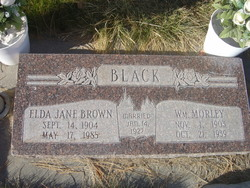 Elda Jane <I>Brown</I> Black