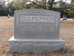 "Caroline ""Carrie"" <I>Turman</I> Culpepper"