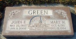 Mary Arvilla <I>McMullen</I> Green