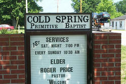 Cold Springs Primitive Baptist Church Cemetery
