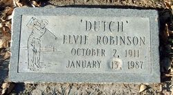 "Elvie ""Dutch"" Robinson"