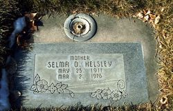 Selma O <I>Briggs</I> Helsley