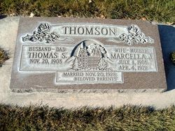 Thomas S Thomson