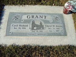Cheryl Mae <I>Jenson</I> Grant