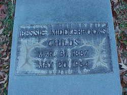 "Lula Bessie ""Bessie"" <I>Middlebrooks</I> Childs"