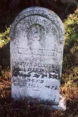 Margaret Fore Allender