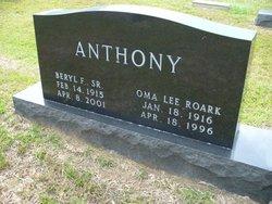 Oma Lee <I>Roark</I> Anthony