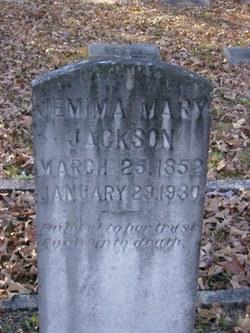 Emma Mary Jackson