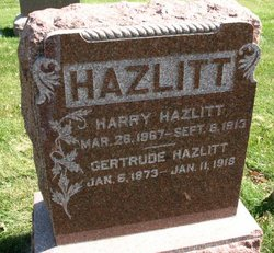 Harry Hazlitt