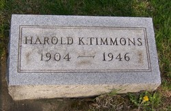 Harold Kenneth Timmons