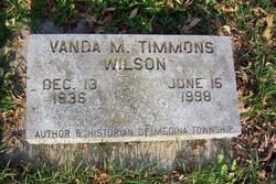 Vanda Mae <I>Timmons</I> Wilson