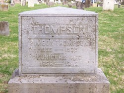 Eunice <I>Harmon</I> Thompson