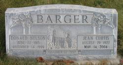 Jean <I>Curtis</I> Barger