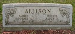 Alice Melissa <I>Boyd</I> Allison