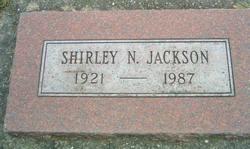 Shirley N Jackson