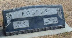 Alma Victoria <I>Holm</I> Rogers