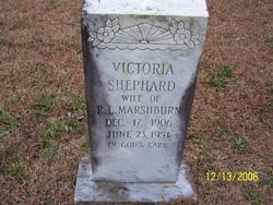 Victoria <I>Shephard</I> Marshburn