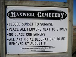 Maxwell Cemetery