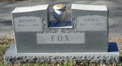 Watson Peter Fox