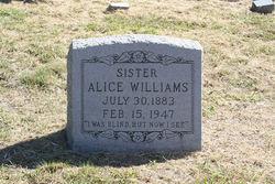 Alice Williams