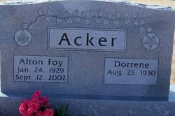 Alton Foy Acker