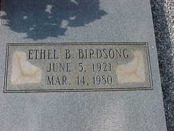 Ethel B. Birdsong