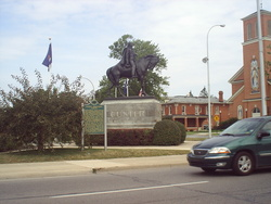 General George A. Custer Monument