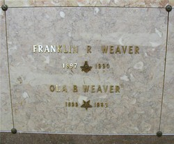 Franklin Ray Weaver