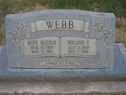 Ruby Webb