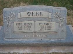 Roland T Webb