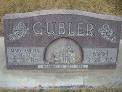 Mary Amelia <I>Hunt</I> Gubler