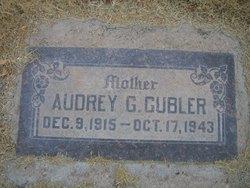 Audrey <I>Gregerson</I> Gubler