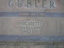 Margarette Bauer Gubler