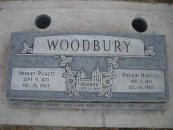 Harriet <I>Pickett</I> Woodbury