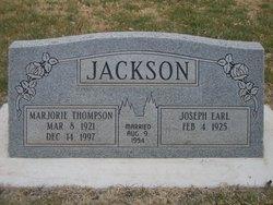 Marjorie <I>Thompson</I> Jackson
