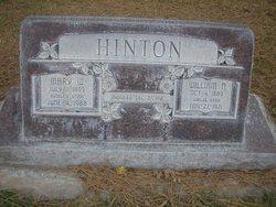 """Mary """"Mamie"""" <I>Workman</I> Hinton"""