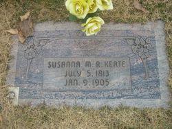 Susannah Mehetable <I>Rogers</I> Keate