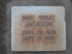 Mary Violet Jackson