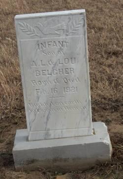 Infant Son Belcher