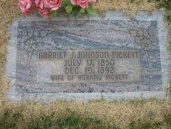 Harriet Josephine <I>Johnson</I> Pickett