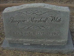 Imogene <I>Marshall</I> White