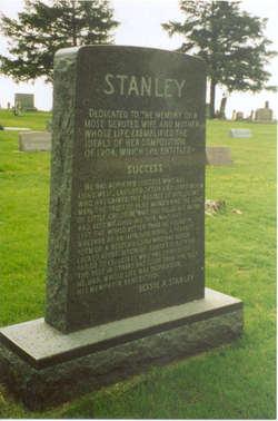 """Caroline Elizabeth """"Bessie"""" <I>Anderson</I> Stanley"""