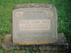 Nellie May <I>Cook</I> Hall