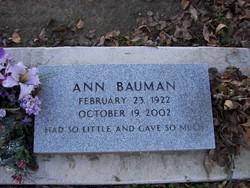 Ann <I>Chipponeri</I> Bauman