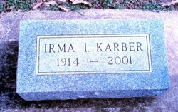 Irma Iola <I>Cox</I> Karber