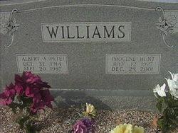 Imogene <I>Hunt</I> Williams