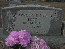 Arnolia <I>Hines</I> Bost