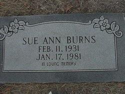Mary Sue Ann <I>Campbell</I> Burns